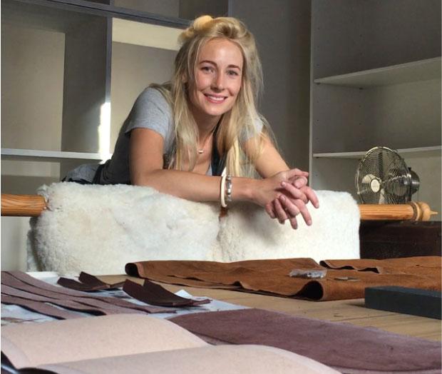 Justine-in-workshop